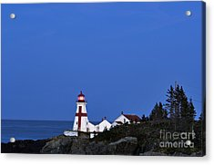 East Quoddy Lighthouse - D002160 Acrylic Print by Daniel Dempster
