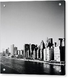 East River New York Acrylic Print