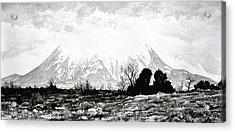 East Spanish Peak Acrylic Print by Aaron Spong