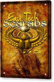 East Tech Scarabs4eva Acrylic Print by Romaine Head