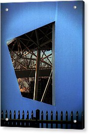 East Wall Of The Marcus Amphitheater At Summerfest Acrylic Print by David Blank