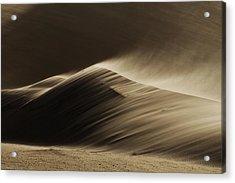 East Wind In The Namib Desert Acrylic Print