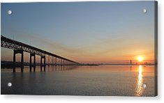 Eastbound Acrylic Print by Eileen Corbel
