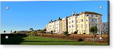 Eastbourne King Edwards Parade Panorama Acrylic Print