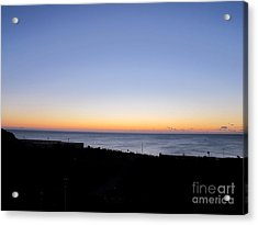 Eastbourne Sunset Acrylic Print by Art Photography