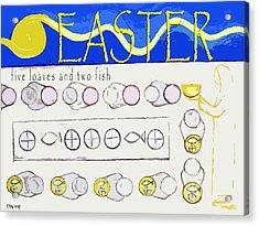 Easter 17 Acrylic Print by Patrick J Murphy