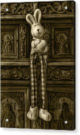 Easter Bunny From The Past Acrylic Print by Gynt