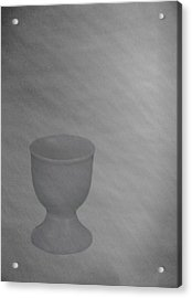 Easter Eggcup Acrylic Print by Sarah Vernon