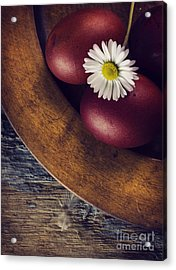 Easter Eggs Acrylic Print by Jelena Jovanovic