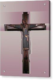 Easter Pasqua Croce Di Gesu Cross Of Jesus Acrylic Print