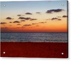Acrylic Print featuring the photograph Easter Sunset by Amar Sheow