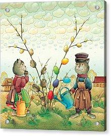 Eastereggs 05 Acrylic Print by Kestutis Kasparavicius