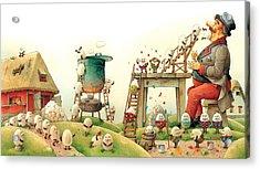 Eastereggs 07 Acrylic Print by Kestutis Kasparavicius