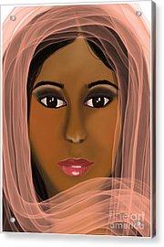Eastern Beauty Acrylic Print