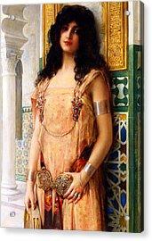 Eastern Beauty Acrylic Print by Munir Alawi