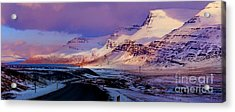 Eastern Iceland Mountain Pass Acrylic Print