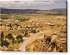 Eastern Mesa View Acrylic Print by James Gay