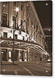 Eastman Theater Acrylic Print