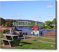 Easton Pa - Delaware Canal State Park Acrylic Print by Jacqueline M Lewis