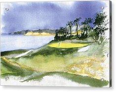 Eastward Ho Country Club Acrylic Print by Joseph Gallant