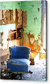 Easy Chair Acrylic Print