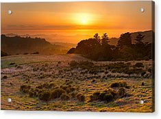Easy Living - Russian Ridge California Acrylic Print by Matt Tilghman