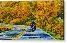 Easy Rider Acrylic Print by Dan Sproul