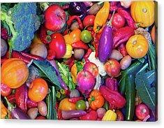Eat Your Veggies Acrylic Print
