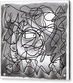 Eavesdropping Acrylic Print