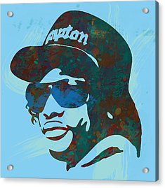 Eazy-e Pop  Stylised Art Sketch Poster Acrylic Print