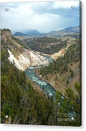 Ebb And Flow Acrylic Print by Lauren Leigh Hunter Fine Art Photography