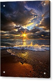 Ebb And Flow Acrylic Print by Phil Koch