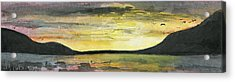 Ebb Of Sol Acrylic Print by R Kyllo