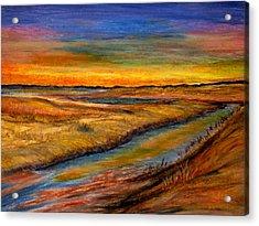 Ebbing Tide Acrylic Print