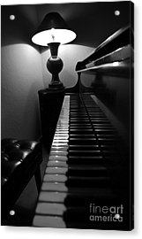 Ebony And Ivory Acrylic Print by Al Bourassa