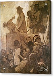 Ecce Homo Acrylic Print by Honore Daumier