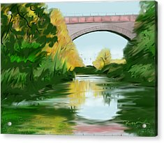 Echo Bridge Acrylic Print
