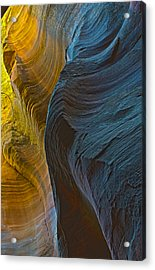 Echo Canyon Glow Acrylic Print