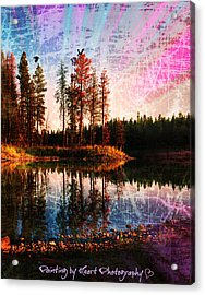 Echo Lake Acrylic Print