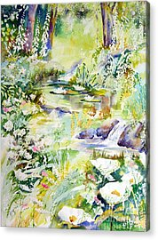 Echo Of Spring Acrylic Print