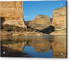 Echo Park In Dinosaur National Monument Acrylic Print