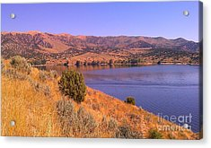Acrylic Print featuring the photograph Echo Reservoir Utah by Chris Tarpening