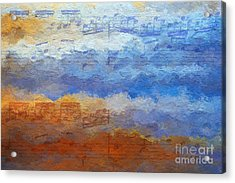 Echoes Of Earth And Sky Acrylic Print