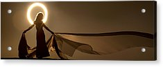 Eclipse Angel Acrylic Print by Dario Infini