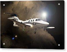 Eclipse Landing Acrylic Print