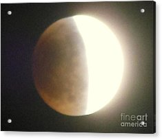 Eclipse Acrylic Print by Eclectic Captures