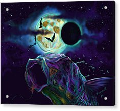 Eclipse Rush  Acrylic Print by Yusniel Santos