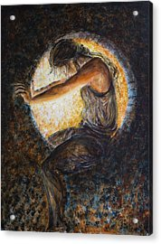Eclipsed Acrylic Print by Nik Helbig