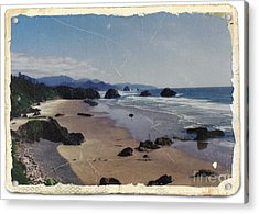 Ecola 1 Acrylic Print by Chalet Roome-Rigdon