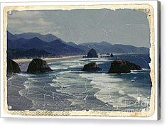 Ecola Sea Stacks Acrylic Print